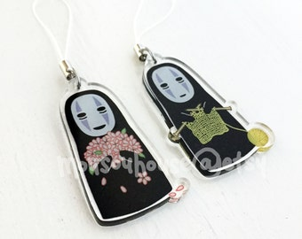 Ghibli Spirited Away No Face Charms