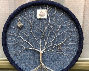 HARRIS TWEED Tree of Life Wall Hanging