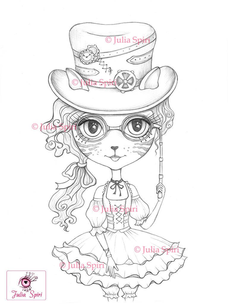 Coloring Pages Digital stamp Digi