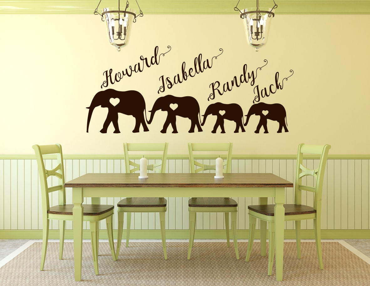 Elephant family art, elephant family, family of elephants, family ...