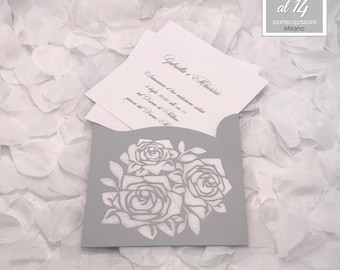 wedding invitation and marriage participation