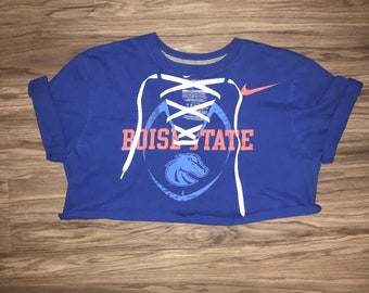 Boise State University Lace-Up Tee