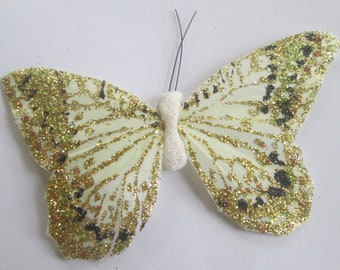 Butterfly Hair Clip SOLD INDIVIDUALLY Gold butterfly Gift For Her Butterfly Accessory handmade hair clip by Ziporgiabella sold individually