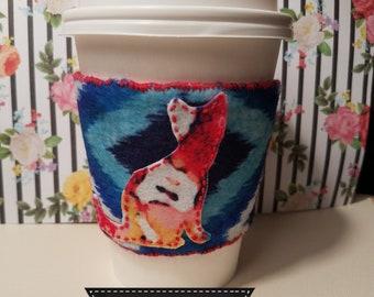 Reusable Coffee/Tea Cozy Sleeve