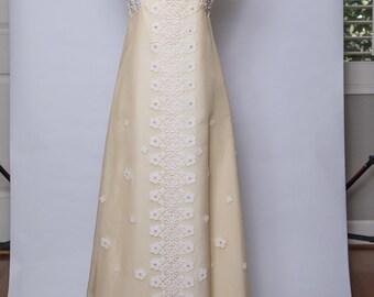 Lord & Taylor hand made wedding dress - vintage