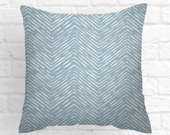 Cashmere Blue Collection 16 x 16 pillow cover // 16 x 16 pillow // pillow covers 16 x 16