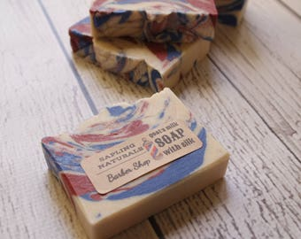 Barber Shop Soap with Goat's Milk and Silk