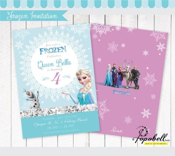 Frozen invitation printable olafs frozen birthday party stopboris Gallery