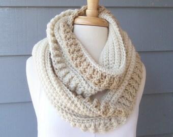 PATTERN S-100 / Crochet Pattern / Mavis Infinity - 300/100 yards of worsted weight