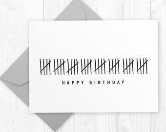 Happy 30th birthday printable card diy instant download happy 40th birthday printable card funny humor diy printable birthday card for boyfriend husband bookmarktalkfo Image collections