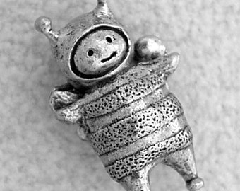 Green Girl Studios Pewter Bumble Friend Pendant