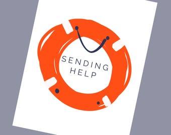 SENDING HELP
