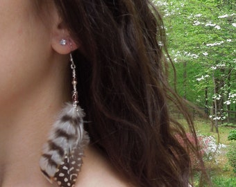 Clarissa Feather Earrings