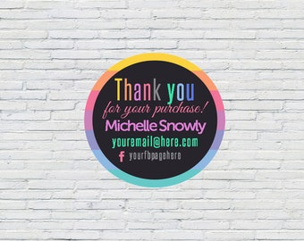 LuLa Thank You Sticker | Packaging Stickers, Thanks For Purchase, Fashion Consultant Marketing, Independent Sales Rep, LLR Thank You, Lula
