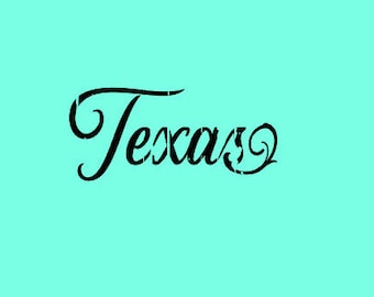 Texas Distressed SVG