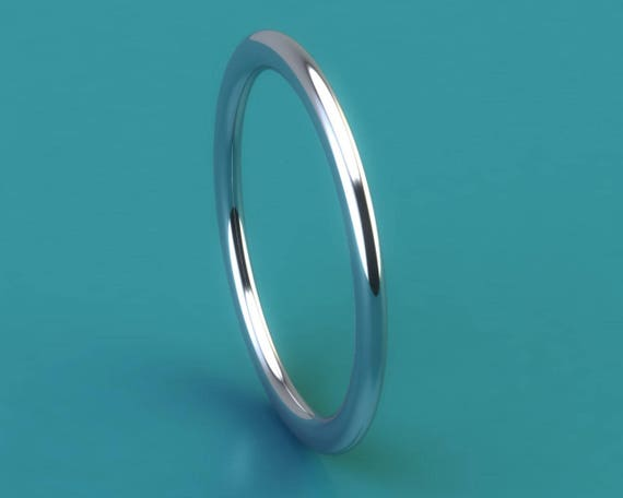 Mila kunis style PLATINUM 950 13mm by 18mm deep ring
