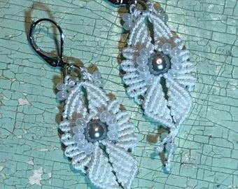 Earrings - Cavandoli Knotting