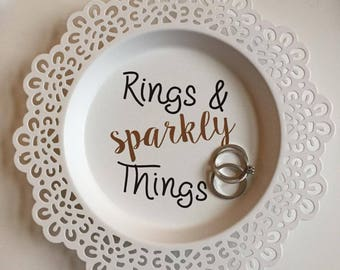 Ring/Trinket dish Sparkly Things