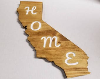 Carved California Home Rustic Decor
