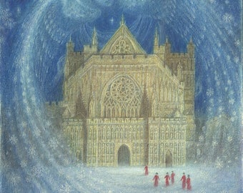 Cathedral Dreams- print of a painting by Virginia Lee