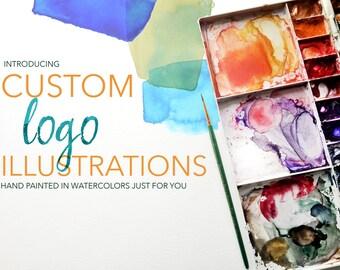 Custom Made-To-Order Logo Illustration