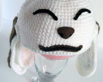 Super Cool Akamaru Knitted Hat (Kiba - Naruto Shippuden) All sizes!