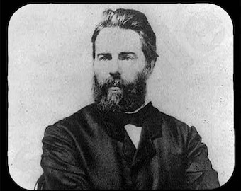 Mouse Pad; Herman Melville