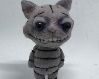 Cheater the Cheshire Cat Original one of a kind art doll