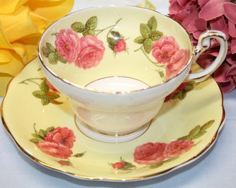EB FOLEY teacup and saucer set.