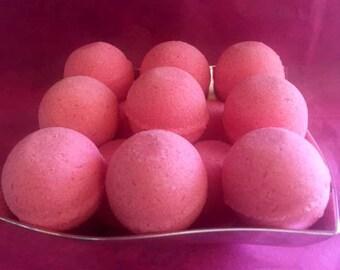 Pretty in Pink Bath Bomb - Bergamot and Chamomile bath bombs