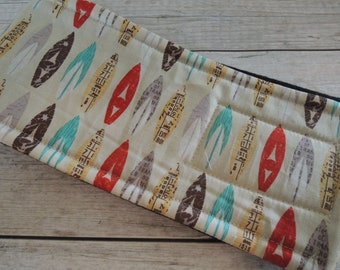 Dog Belly Band, Surfboard Fabric, Stop Marking with WeeWrap, Personalized
