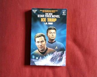 L.A. Graf - Ice Trap (Titan Books 1992) - Star Trek