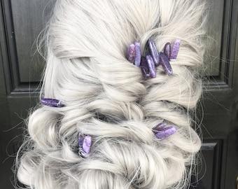 Crystal Hair Pieces