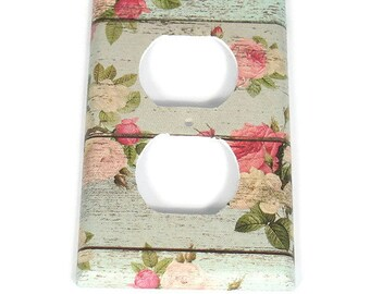 Switch Plate Outlet  Switchplate in Country Girl  (101O)