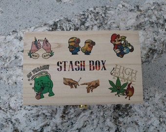 Custom Made Stash box One of a Kind
