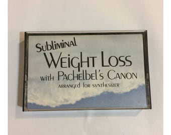 Subliminal Weight Loss With Pachelbel's Canon Cassette Tape
