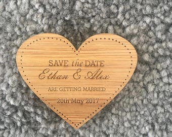 Save the Date Magnet - Heart