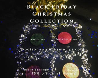 A Black Friday Chistmas Collection eyeshadow palette sale