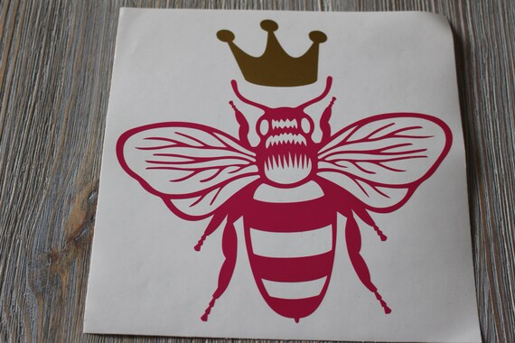 Queen bee car decal car decal queen bee queen bee decal