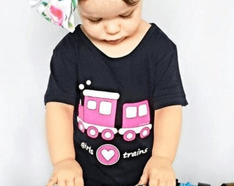 Train Birthday Shirt, Choo Choo Train Birthday Party, Pink Train, Thomas the Train, Train Theme, Girls Train T-Shirt, Birthday Train, Driver