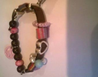 Ibiza style bracelet