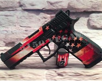 Custom Gun Wrap for CZ P-09