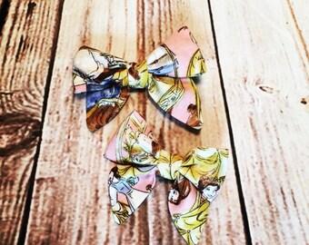 Sailor style bow