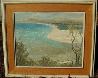 Oil Painting L V Solomon Impressionist,Very Rare, Framed Original Art
