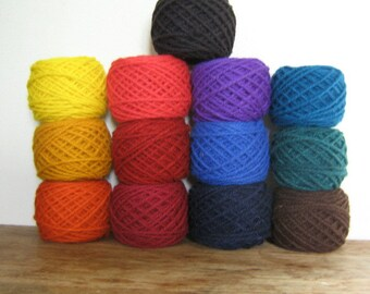 Lanaset Dyes for Wool and Silk, Acid Dyes, set of 13 colors, 1/2 ounce each