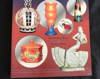 Czechoslovakian Glass & Collectibles identification and price guide reference book Czech glass pottery jewelry toys