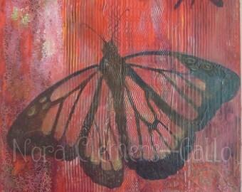 "Original Acrylic painting ""El Papalote Transparente"""