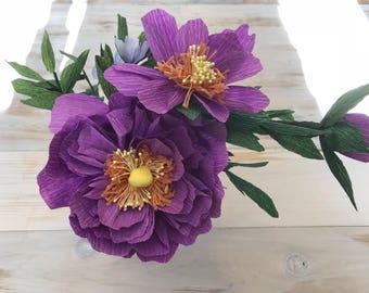 Paper floral small arrangement