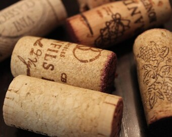 25 Used Wine Corks - for crafts, wedding projects, cork board