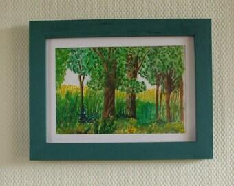 Landscape version 1 - Watercolor Painting